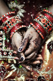 Henna Hands Royalty Free Stock Photo