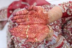 Henna Hands Lizenzfreie Stockfotografie