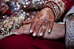 Henna Hands Fotografia de Stock Royalty Free