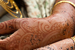 Henna Hands and Arms Stock Image