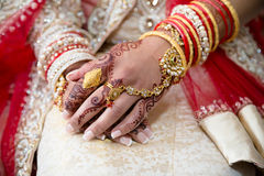 Henna hands royalty free stock photos
