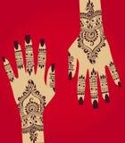 Henna hena Στοκ φωτογραφία με δικαίωμα ελεύθερης χρήσης