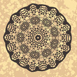 Henna inspired Colourful Mandala Royalty Free Stock Photography