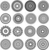 Henna Mandala Royalty-vrije Stock Foto's