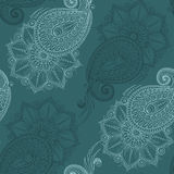 Henna Mehendi Tattoo Seamless Pattern Royalty Free Stock Photos