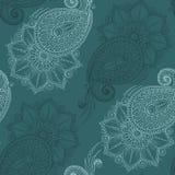 Henna Mehendi Tattoo Seamless Pattern Royalty Free Stock Photos