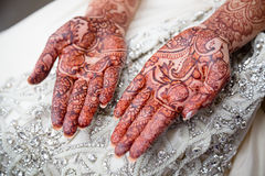 Henna Palms Royalty Free Stock Images