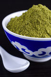 Henna powder in a bowl Stock Images