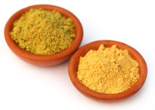 Henna and sandalwood powder Stock Image