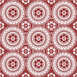 Henna seamless pattern. Seamless wallpaper background pattern inspired by henna design and oriental art Royalty Free Stock Photo