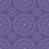Henna seamless pattern Royalty Free Stock Photography