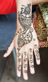 Henna tattoo Stock Images