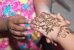 Henna Tattoo Royalty Free Stock Photo