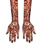Henna Tattoo stock de ilustración