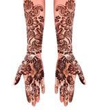 Henna Tattoo Images libres de droits