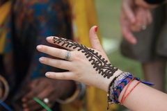Henna Tattoo Royalty Free Stock Image