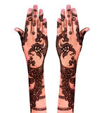 Henna tattoo Stock Images