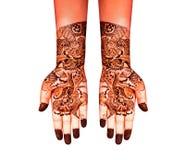Henna tattoo Royalty Free Stock Photography