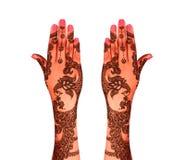 Henna tattoo Royalty Free Stock Photos