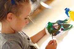 Henne favorit- aktivitet Royaltyfri Fotografi