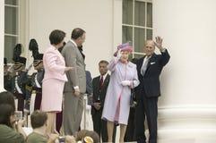 Henne majestätdrottning Elizabeth II Fotografering för Bildbyråer