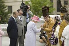Henne majestätdrottning Elizabeth II Arkivbild