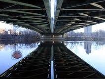 Henneapin Alleen-Brücke Stockfoto