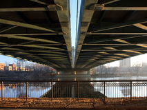 Henneapin Ave bridge Royalty Free Stock Photo