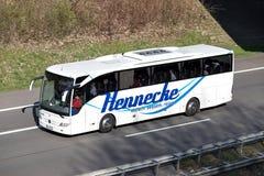 Hennecke intercity buss arkivbild