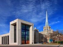 Hennepin Alleen-vereinigte Methodistenkirche Lizenzfreies Stockfoto