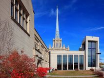 Hennepin Avenue United Methodist Church. In Minneapolis Royalty Free Stock Image