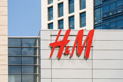 Hennes &毛里茨(H&M)大厦 图库摄影