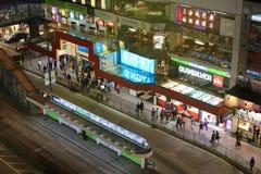 Hennessy Road, Causeway Bay, Hong Kong Royalty Free Stock Images