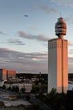 Henniger Kontrollturm lizenzfreies stockfoto