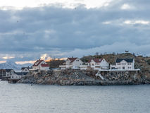 Henningsvaer on Lofoten Islands, Norway Royalty Free Stock Images