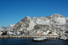 Henningsvaer, Norway Royalty Free Stock Images