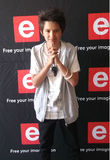 Henno William 2015. Henno William, South Africa's 1st Golden Buzzer winner and SA's Got Talent 2015 finalist at the e.tv Summer Preview 2015 stock photography