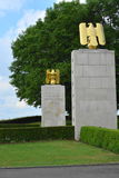 Henri-Chapelle, Belgien - 31. Mai 2017: Amerikanischer Militärfriedhof und Denkmal lizenzfreies stockfoto