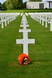 Henri-Chapelle, Belgique - 31 mai 2017 : Cimetière et mémorial militaires américains Photos stock