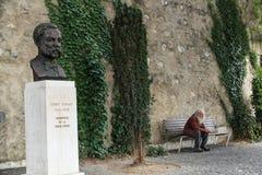 Henri Dunant, Genf, Switzeland Stockbild