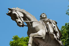 Henri IV statue in place of Vosges in Paris Royalty Free Stock Images