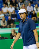 Henri Leconte at Zurich Open 2012 Stock Photo
