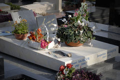 Henri Salvador Grave Images libres de droits