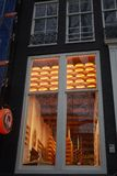 Henri Willig Cheese Museum stock image