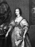 Henrietta Maria of France Stock Photo