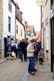 Henrietta street, Whitby, Yorkshire. Stock Photography