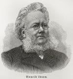 Henrik Ibsen Imagem de Stock Royalty Free