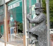 Henrik Ibsen statua w Oslo, Norwegia zdjęcie stock