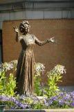 Henrik Ibsen statua w Oslo, Norwegia zdjęcia stock