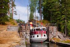 Henrik Ibsen wchodzić do Eidsfoss kędziorek przy Telemark Kanałowy Telemark Nor fotografia stock